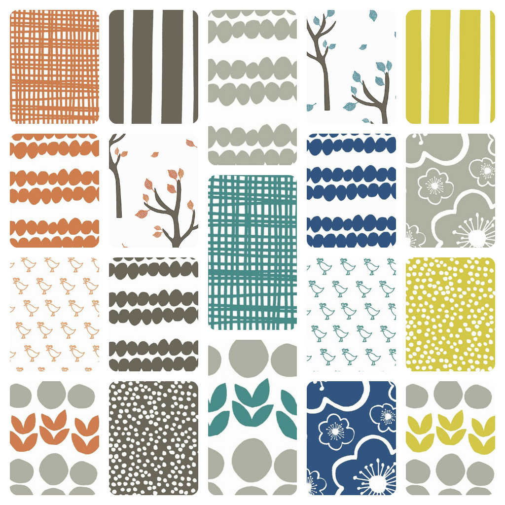 Lotta jansdotter wendy world for Modern fabrics textiles